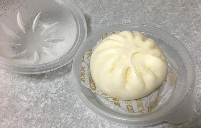ヤマザキ 中華まん専用レンジ蒸し器が便利!