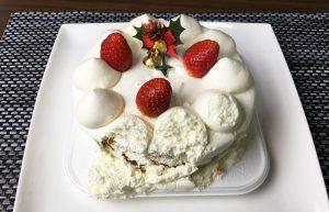 ローソン 生ケーキ4号と苺