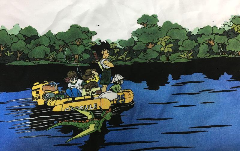 ドラゴンボールGU Tシャツ ジャングルクルーズ2