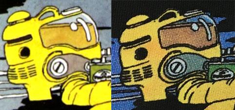 GUドラゴンボールTシャツ 画像比較