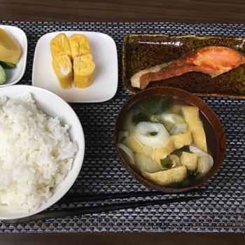 ボッチの和朝食