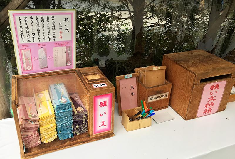 東京大神宮 願い文