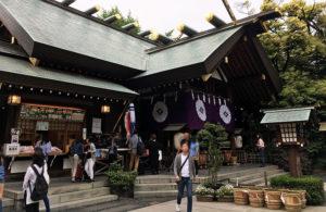 東京大神宮の様子