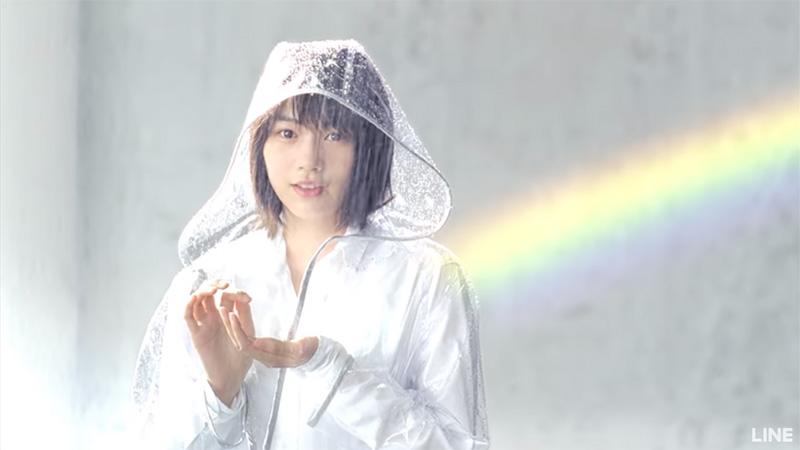 ラインモバイル のん(能年玲奈)CM曲