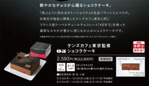 ケンズカフェ東京監修 ショコラケーキ カタログ