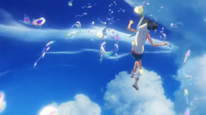 天気の子 キャラ作画 参考画像 水の魚群