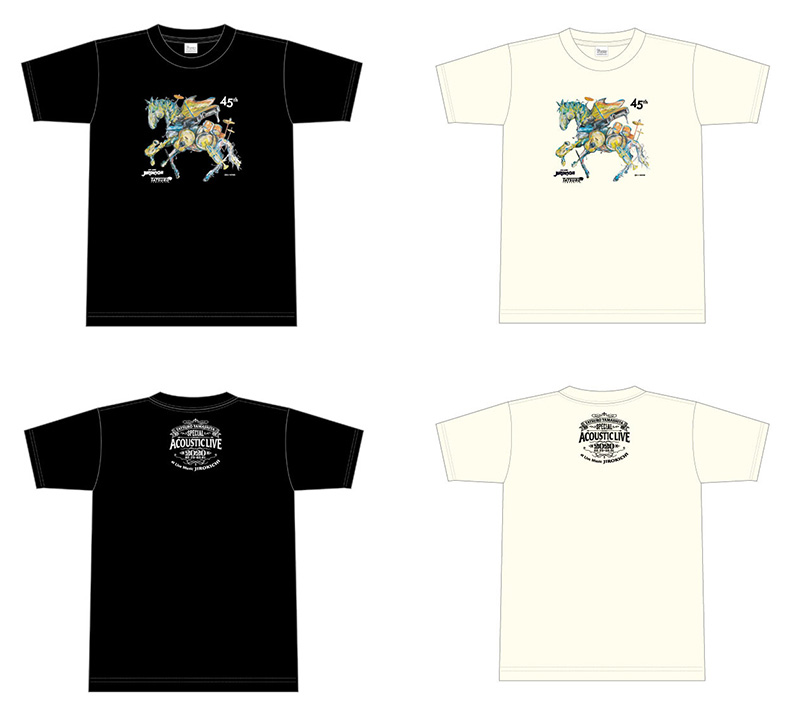 JIROKICHI 山下達郎 サイン色紙付き チャリティーTシャツ
