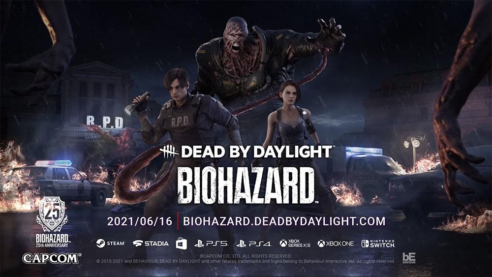 Dead by Daylight デッドバイデイライトが面白すぎる! バイオコラボ画像